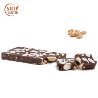 Turrón de chocolate negro y almendra Marcona