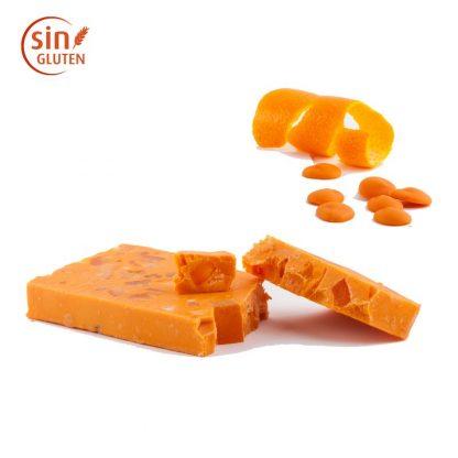 Turrón chocolate de naranja