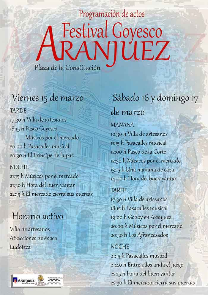 Turrones Agut en el festival Goyesco de Aranjuez