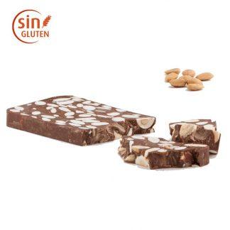 Turrón de chocolate con leche y almendra Marcona