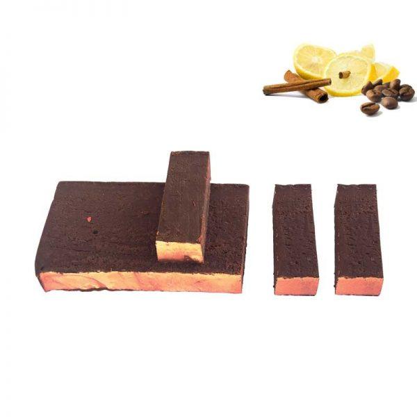 Turrón de chocolate trufado al carajillo