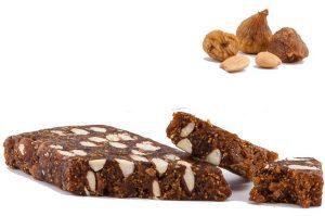 Pan de higo con almendra marcona, alimento energético natural